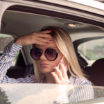 woman-on-the-phone-lyft-accident-los-angeles